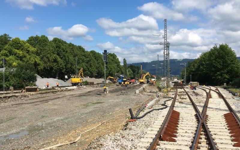 Knoten Lindau – Oberbaumaßnahmen